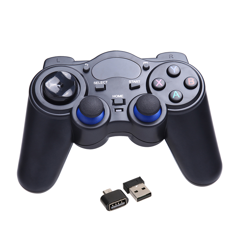 Universal 2.4G Wireless Game Gamepad Joystick Remote Controller Joypad for Android TV Box Tablets PC With USB Receiver(China (Mainland))