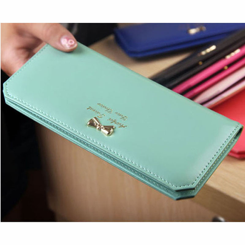 2016 Fashion Women Wallets Leather Long Portable Ladies ...