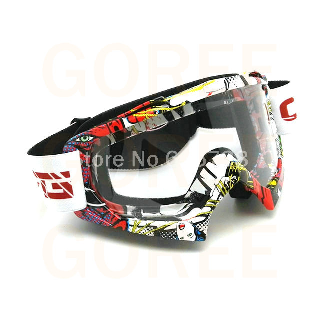 Motocycle Accessories Flexible Goggles Motorcycle Glasses Motocross Bike Cross Country MX Tinted UV Zebra leopard strip 2 lens(China (Mainland))