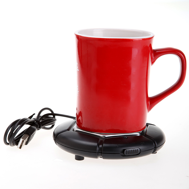 Colorful Portable USB Electronics Gadget Novelty Item Powered Cup Mug Warmer Coffee Tea Drink USB Heater Tray Pad Free Shipping(China (Mainland))