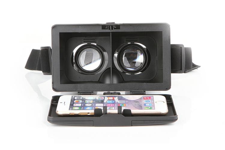 Head Mount ABS Smartphone Helmet for 3 5 6 Screen Polarized 3D Viewing Glasses Mirror Google