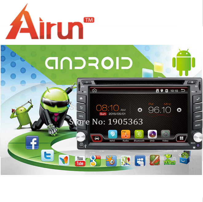 2 din Android 4.4 Car DVD player GPS+Wifi+Bluetooth+Radio+1GB CPU+DDR3+Capacitive Touch Screen+3G+car pc+stereo+3G(optional)(China (Mainland))