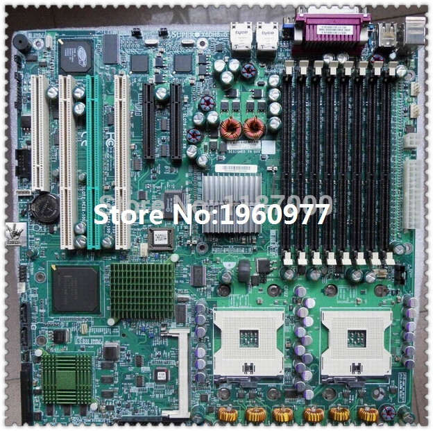 Promotion! low price Original X6DH8-G for Supermicro Intel E7520 Socket 604 System Board Well Tested 90 Days Warranty(China (Mainland))