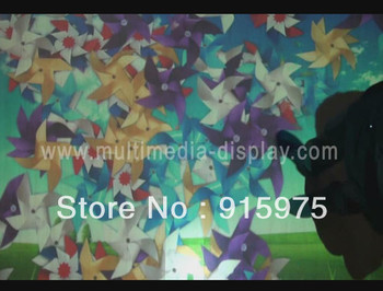 free fast shipping and low cost magic floor/wall system with 30 Interactive effects for advertising and Shops,Seminars