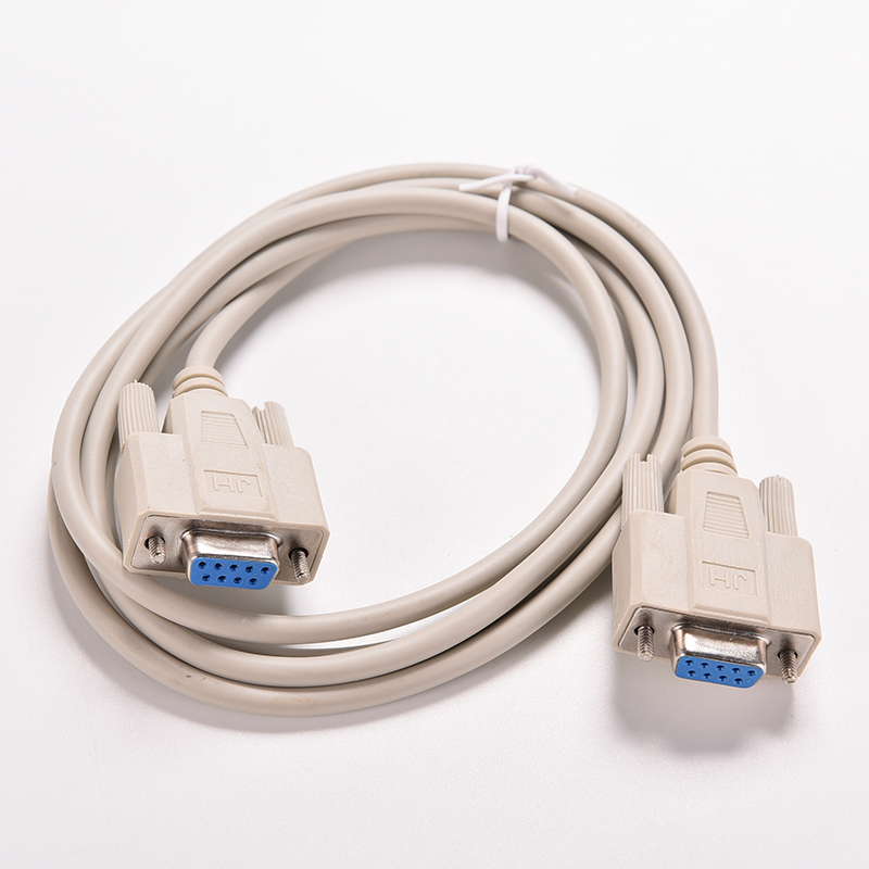 1PC 5ft F/F Serial RS232 Null Modem Cable Female to Female DB9 FTA Cross Connection 9 Pin COM Data Cable Converter PC Accessory(China (Mainland))
