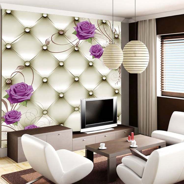3d Wallpaper Decor : High quality d stereoscopic wallpaper for walls papel