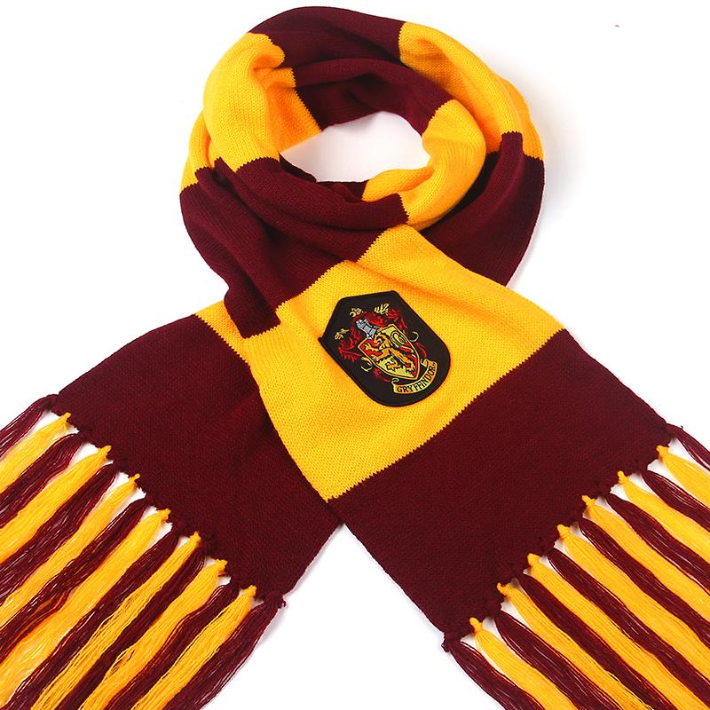 200*20 winter warm harry potter scarf gryffindor Scarves Knitting Ravenclaw College kids Magic School Slytherin children SQ124(China (Mainland))