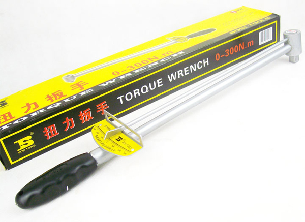 free shipping BOSI great 1/2 Dr.socket torque wrench tension wrench 0-300N.m(China (Mainland))
