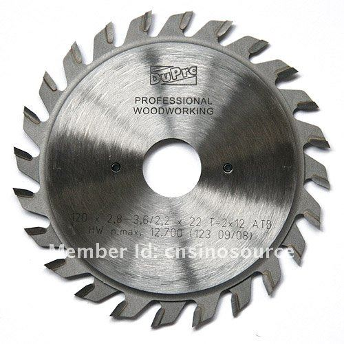 FREE SHIPPING European Quality Adjustable Scoring Blades for Wood Circular Saw Blade for Power Cutters(China (Mainland))