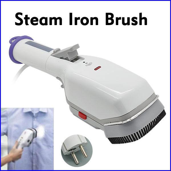 Travel Portable 650W Clean Iron Steam Brush Handheld Electric Dry Handy Steam Washer Iron Brush Free shipping(China (Mainland))