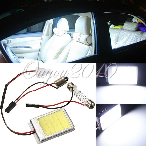 4pcs/lot T10 5050 COB LED Car Auto Interior Light Panel Festoon Dome License Plate Lamp Bulb BA9S DC12V Wholesale Free Shipping(China (Mainland))