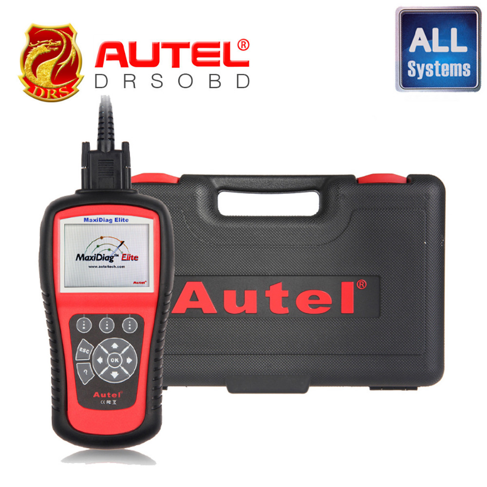 100% original Autel code reader Maxidiag Elite MD802 Full System + DS Model + EPB + OLS 4 IN 1 Scanner (MD701+MD702+MD703+MD704)(China (Mainland))