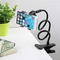 360 Rotating Universal Car Holder Stand Lazy Bed Desktop Car Stand Phone Holder Selfie Mount for Iphone for Samsung