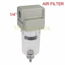 Free Shipping AF2000-02 Compressor Pressure Regulator Pneumatic Air Filter 1/4 Inch Ports Female