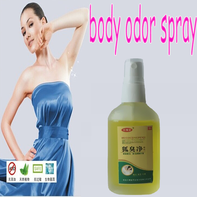 55ml NEW Remove cure body odor underarm odor deodorant men sweat odor deodorant spray women hircismus cleaner(China (Mainland))