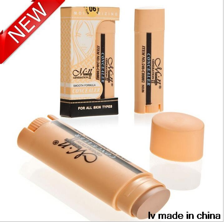 2015 NEW Hot Sale Women Concealer Make Up Scar Cream Cover Spots Eye Concealer Freckles Blain Black Eye With Tracking Number(China (Mainland))