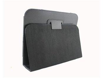 Free shipping New Black Leather Cover Case Stand For HP TouchPad Touch Pad Tablet PC