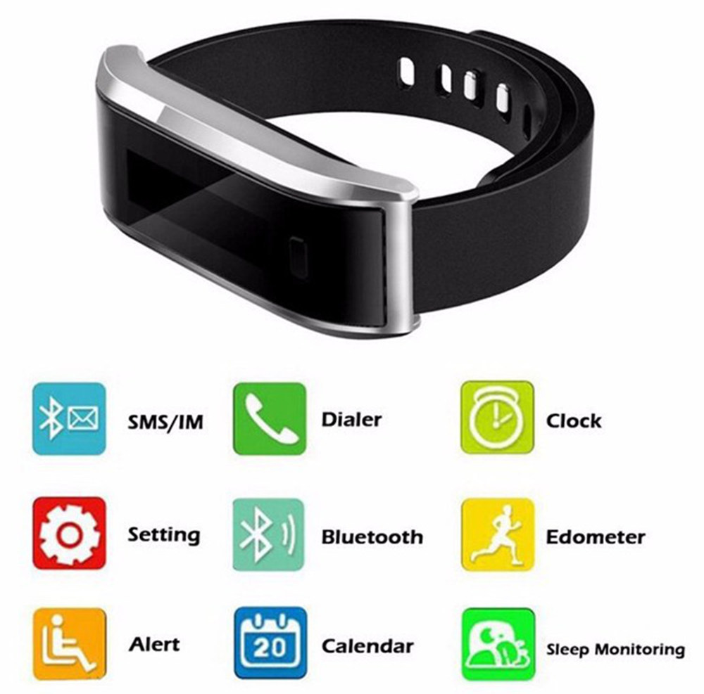 tw07 smart wrist band bluetooth 4 0 water proof sport