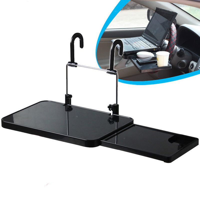 universal foldable auto truck car laptop stand airdesk car seat steering wheel netbook tray. Black Bedroom Furniture Sets. Home Design Ideas