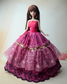 NK One Pcs 2016 Princess Wedding ceremony Gown Noble Occasion Robe For Barbie Doll Trend Design Outfit Finest Reward For Lady' Doll  zero11C