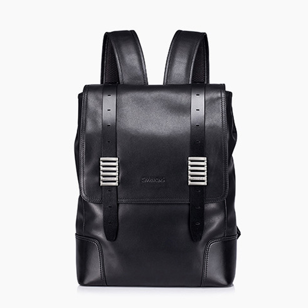 Brands Genuine Leather Backpack Men Backpack Fashion Male School Backpack Travel Bag Large Real Leather rucksack Big Black bag<br><br>Aliexpress