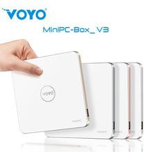 2016 Best VOYO V3 MINI PC Windows10 PC Intel Cherry Trail X7-Z8700 4K 64Bit 4G/128G 2.4G WiFi Bluetooth 4.0 MIni Computer(China (Mainland))