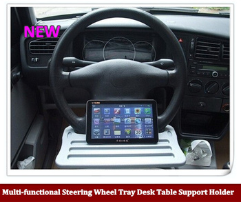 Hot sale Universal Car Multi-functional Steering Wheel Tray Desk Table Support Holder for Tablet PC  Laptop Cup Drink Food Books