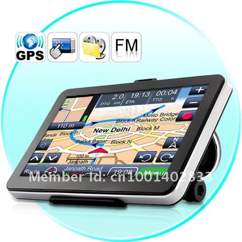 Cheapest! 7inch auto GPS navigation, DDR 128 MB, without bluetooth AVIN 2015 Navitel 9.1 maps for Russia, FM, 800 MHz, WinCE 6.0(China (Mainland))