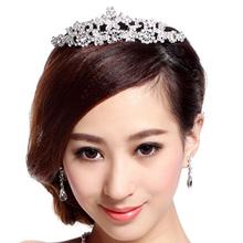 Butterfly Tiara Crystal Rhinestone Jewelry Fashion hair accessories for Wedding Bridal Partyhot