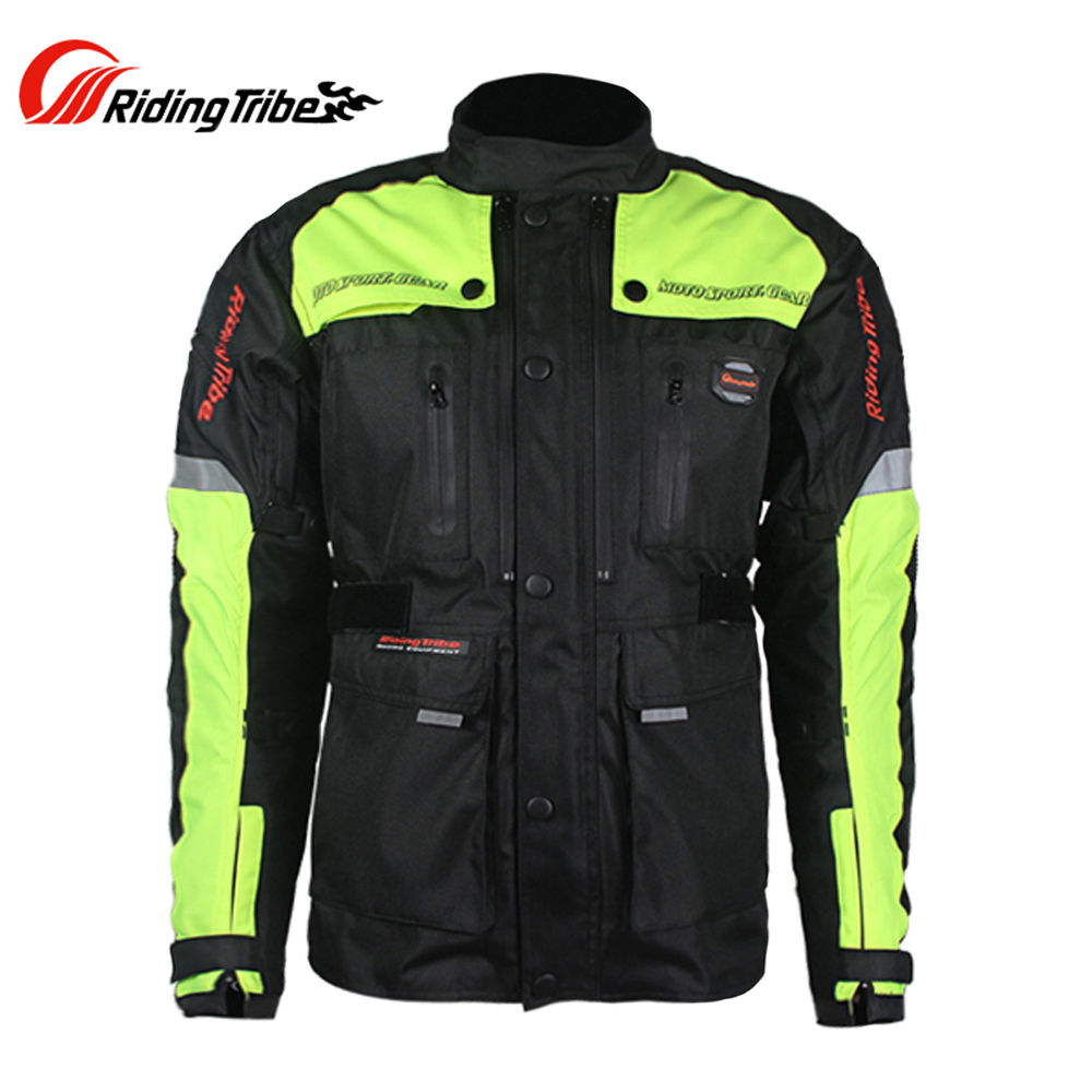 Riding Tribe Men Motorcycle Racing Clothing Motocross Off-Road Windproof Waterproof Jackets Pants Removable Liner - Top-touch Technology Co.,Ltd store