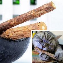 1 Borsa 5 Pz Pet Gatto Catnip Pet Cat Dentifricio Molare Pulizia Dei Denti Naturali Puri Bastone Bastone da Masticare Snack Gatto bastoni(China (Mainland))