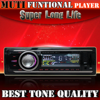 Car RadioFM  Stereo Receiver Aux USB mobile Port and SD Card   MP3 Player  Slot Embedded transmitter