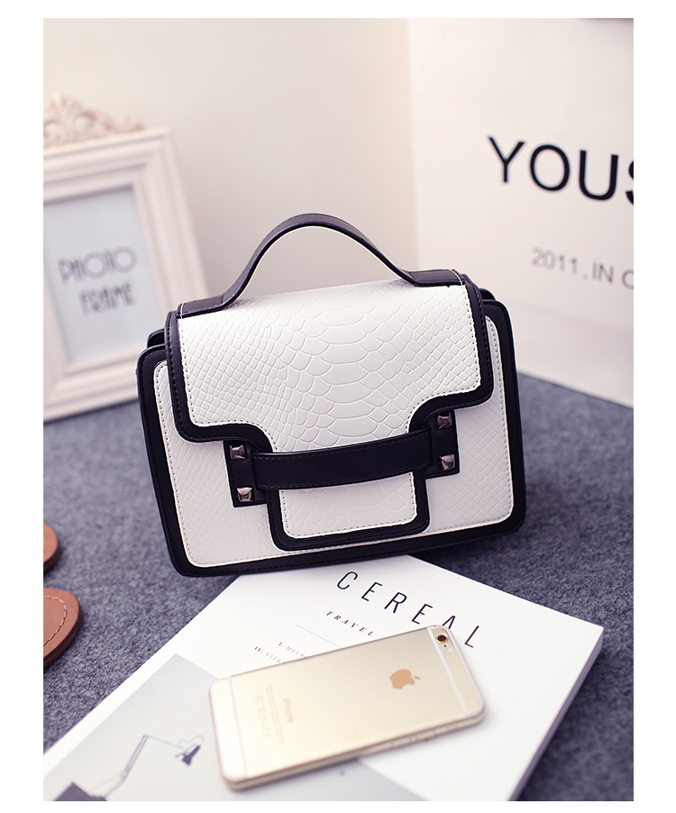 Lover 2015 womens handbag fashion shoulder bag color block serpentine pattern small cross-body bags<br><br>Aliexpress