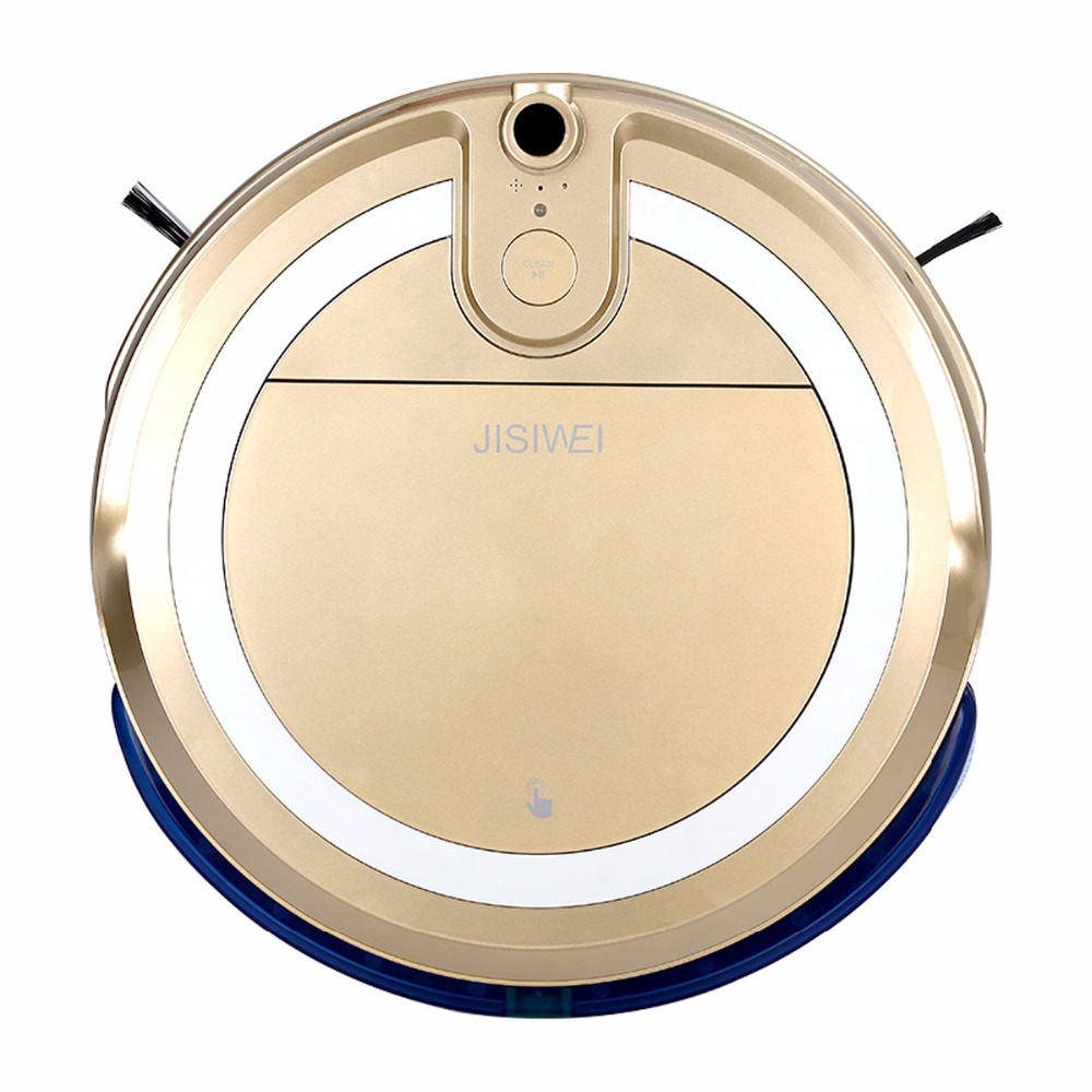 JISIWEI i3 Smartphone Robot Vacuum Cleaner House Cleaning Machine Robotic Sweeper With Built-in HD Camera APP Remote Control(China (Mainland))