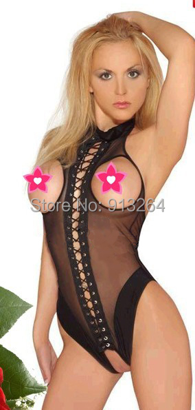 The new sexy underwear beautiful selling clothes perspective dot clothes wholesale Black 1 colors free shipping only one code(China (Mainland))