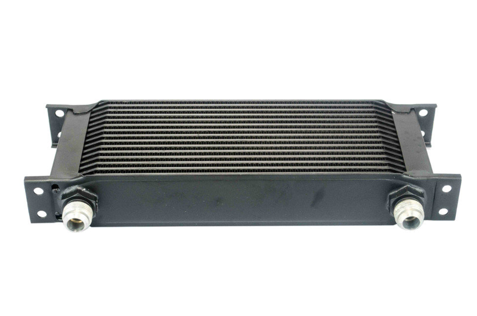 VR Racing Store Aluminum Universal Engine transmission AN10 oil cooler 15rows Black VR7015BK