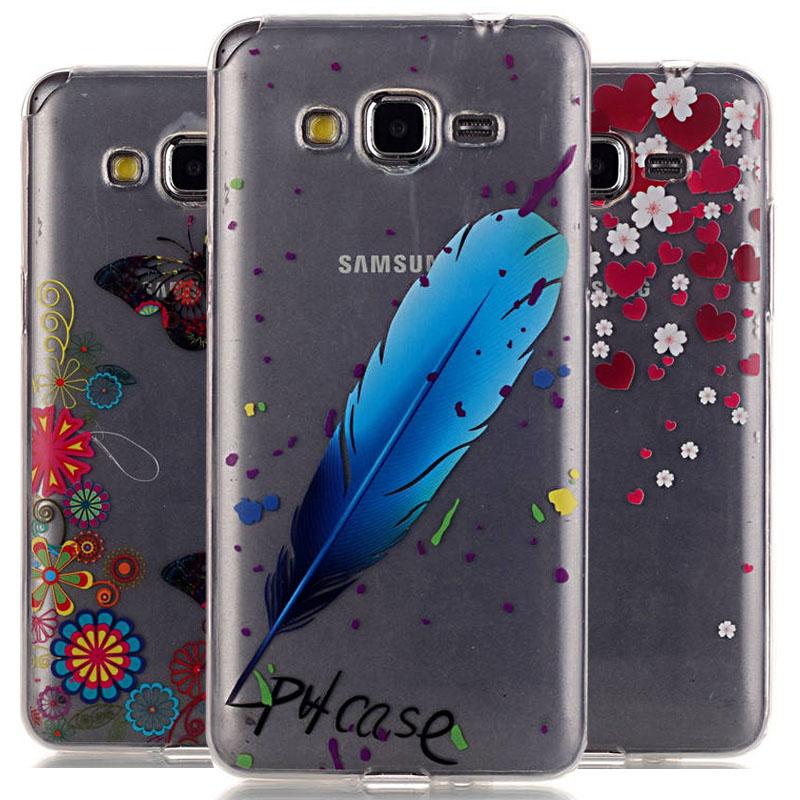 Luxury TPU Gel Soft Back Phone Case Cover Samsung Galaxy Grand Prime G530 G530H G5308w Protective Skin Bags - Fashion 3C Digital discount chain store
