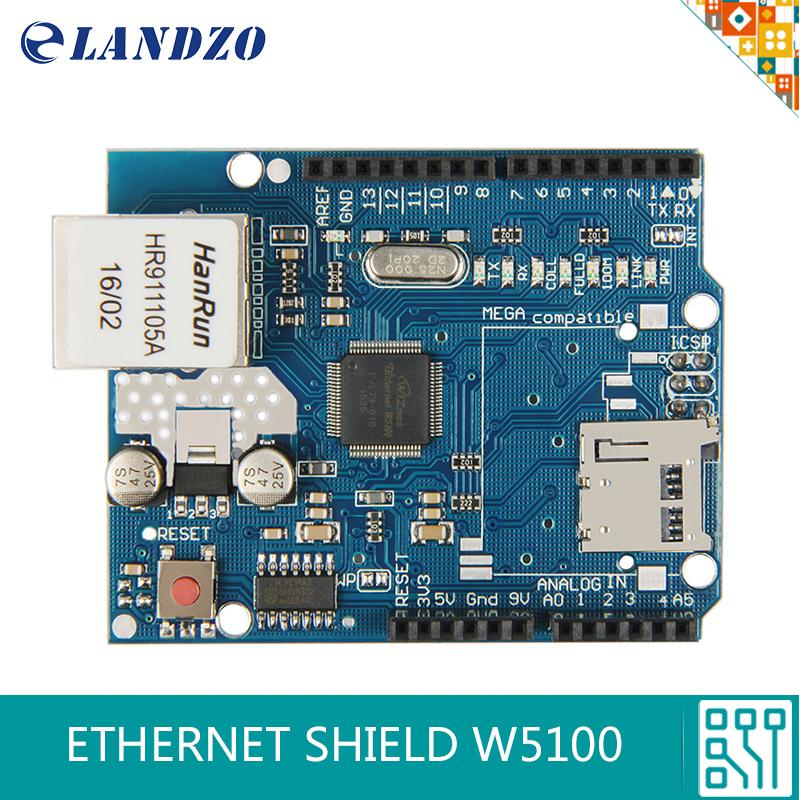 1pcs Arduino Shield Ethernet Shield W5100 R3 UNO Mega 2560 1280 328 UNR R3 W5100 Development board(China (Mainland))