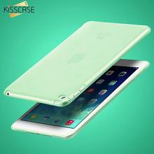 "KISSCASE 7.9"" Clear Transparent Case for iPad mini 4 Soft TPU Silicone Cover for apple ipad mini4 Slim Tablets PC Accessories(China (Mainland))"