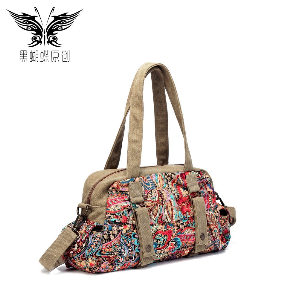 2015 original design Bohemia Indian Women's handbag canvas bag shoulder bag messenger bag 004(China (Mainland))