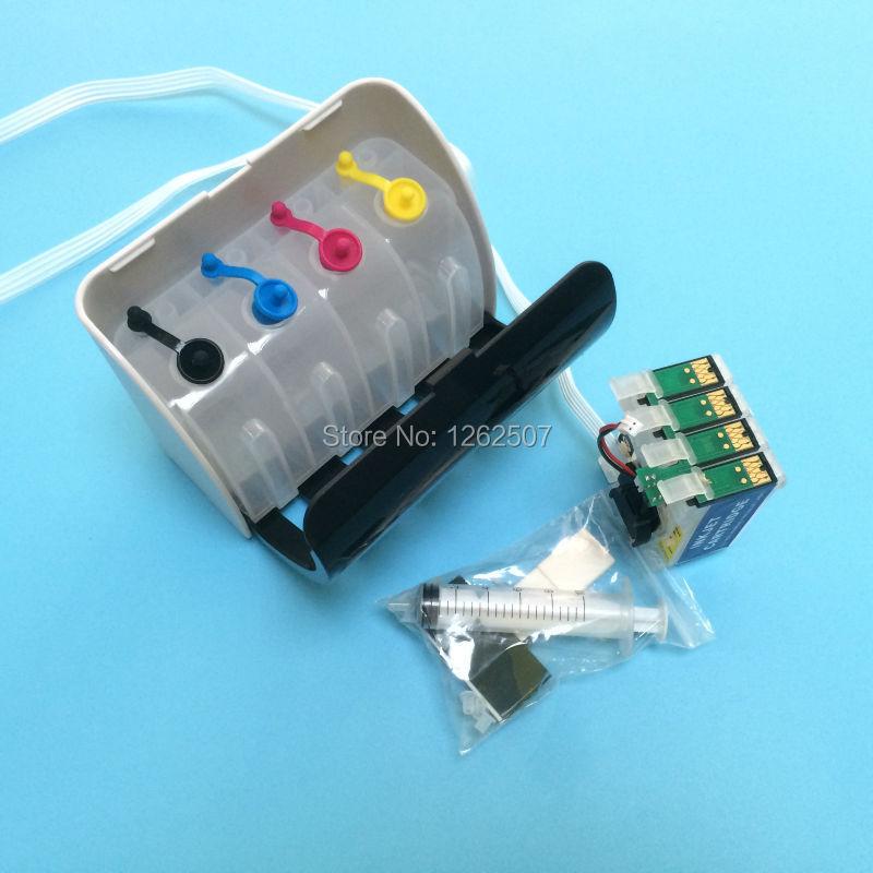 t252 t2521-t2524 система СНПЧ с чипами