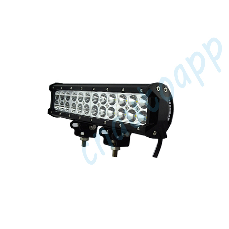 72W Car CREE LED Lights Bar Lighting For Auto Bus Vehicle Tractor Boat Truck Lorry SUV Garden Backyard Beam<br><br>Aliexpress