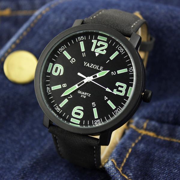 YAZOLE 2016 Men Watch Top Brand Luxury Famous Wristwatch Male Clock Quartz Watch Wrist for Men