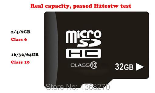 Memory card micro sd Cards tf card 128MB 2GB 4GB 8GB 16GB 32GB 64GB Class 6&10 Real capacity mini sd card for phones(China (Mainland))