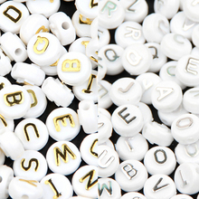 Buy Silver/Gold/Black 10mm Alphabet Letter Spacer Beading Beads SP 200Pcs Baby Pacifier Clip Teether Jewelry Making DIY Bracelet for $4.98 in AliExpress store