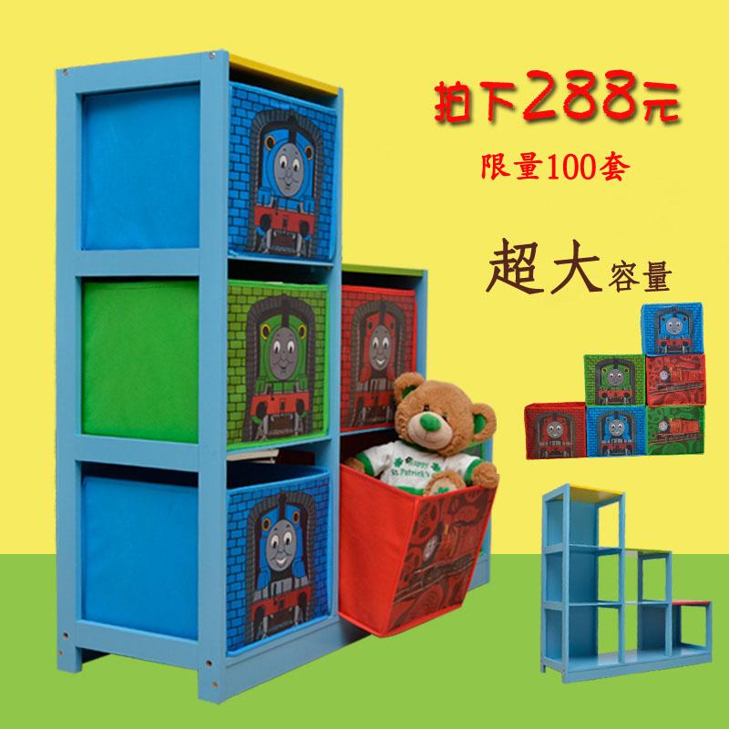 Ploughboys 2013 baby thomas toys cabinet thomas child wool storage rack<br><br>Aliexpress