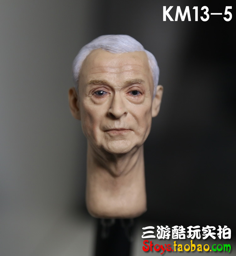 1/6 figure doll head.Batman Alfred Michael Caine Head shape.doll accessories for DIY12 action figure doll headsculpt<br><br>Aliexpress