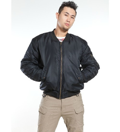 Factory direct alpha army bobber ma1 jacket casual ma-1 flight jacket for men(China (Mainland))