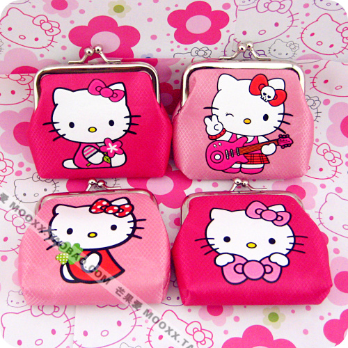 Hot Selling 2015 New Arrivals Pink Hello Kitty Wallet Cartoon Coin Purse Case Small Purse, - Mondex Industries CO. store