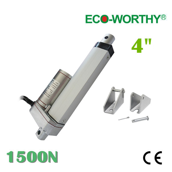 100mm stroke 12V DC 5.7mm/s speed chair mechanism 150KG load mini electric linear actuator for electric sofa, bed, window(China (Mainland))